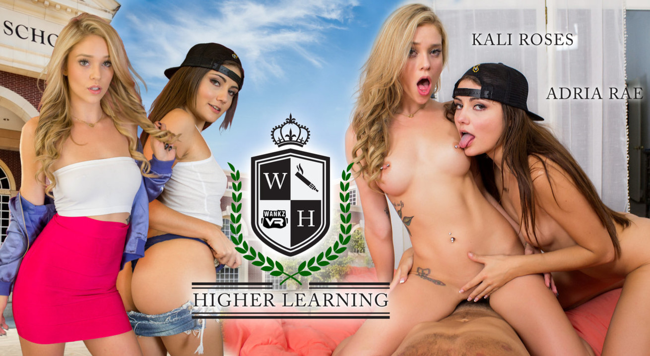 Adria Rae Kali Roses in Higher Learning - WankzVR Eharmony espanol