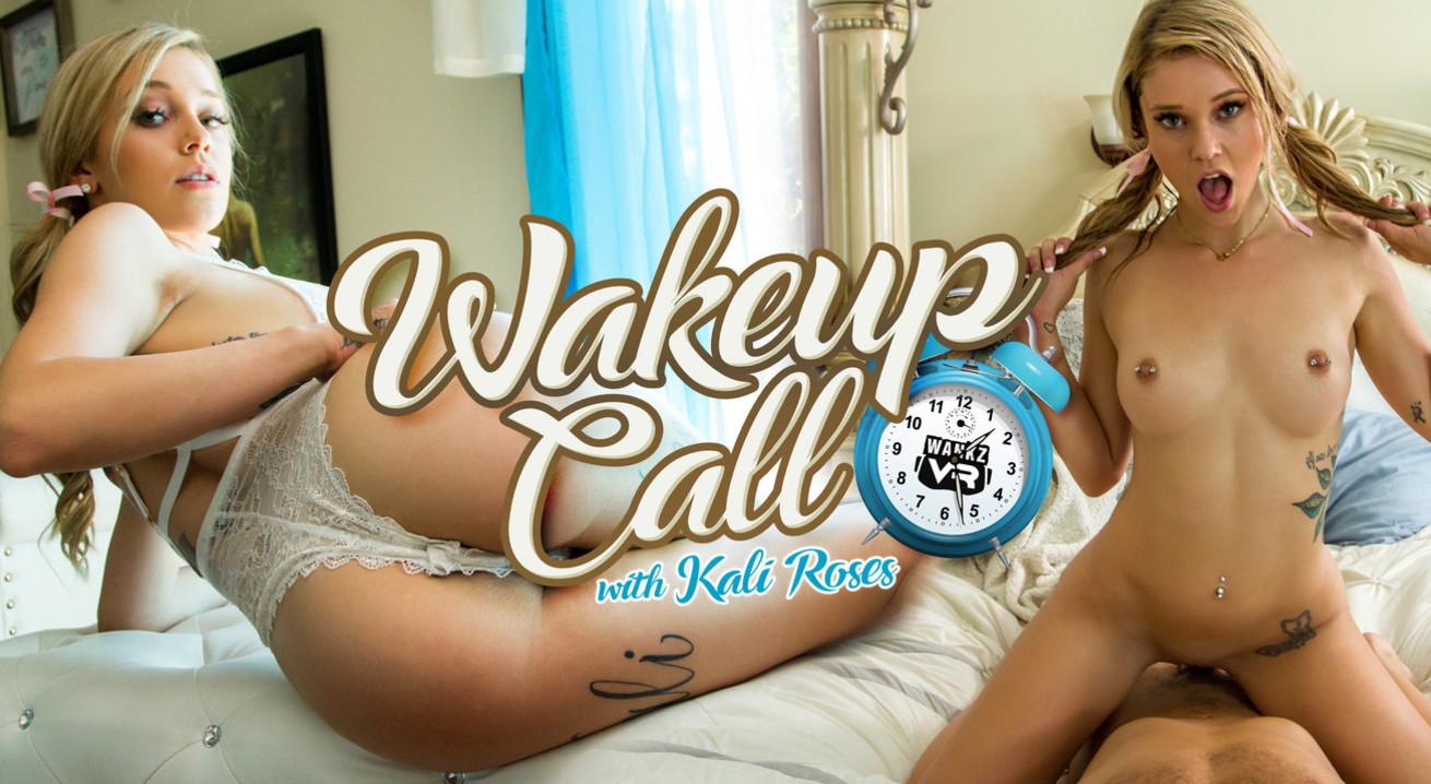 Kali Roses in Wake Up Call - WankzVR fully nude girl dancing video