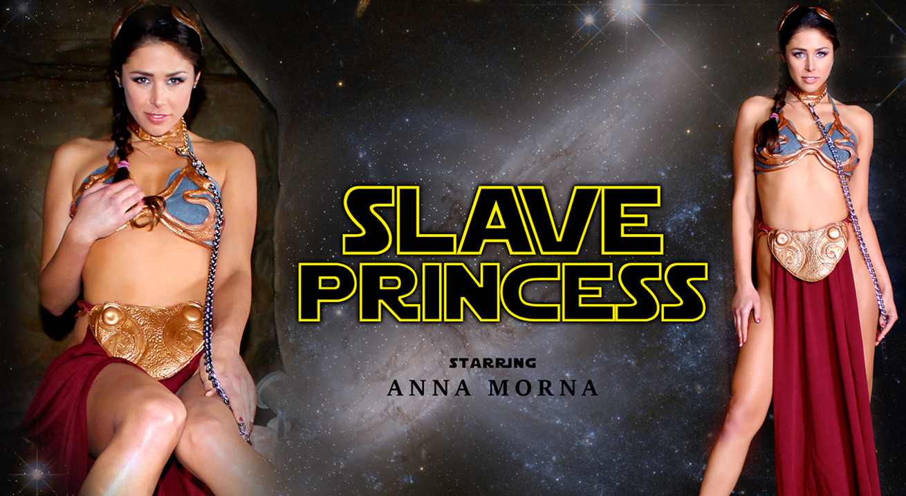 Anna Morna in Slave Princess - WankzVR Alex looney