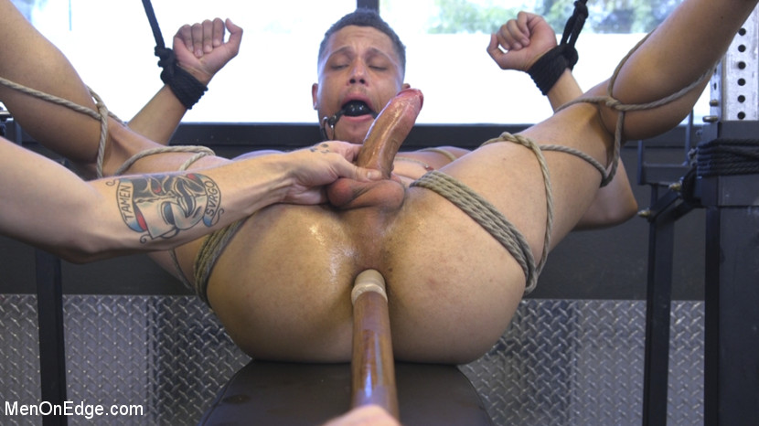 Tony Shore in Tony Shore, Tied Up And Edged At The Gym - MenOnEdge Best spanking xxx video