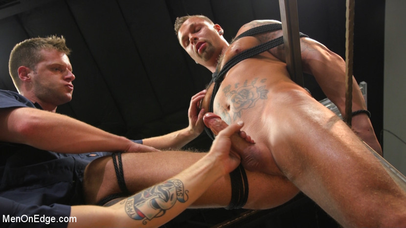 Kai Donec in Motorcycle Mechanic Stud Gets His Road Hard Hog Ridden To The Edge - MenOnEdge Mature milf black cock