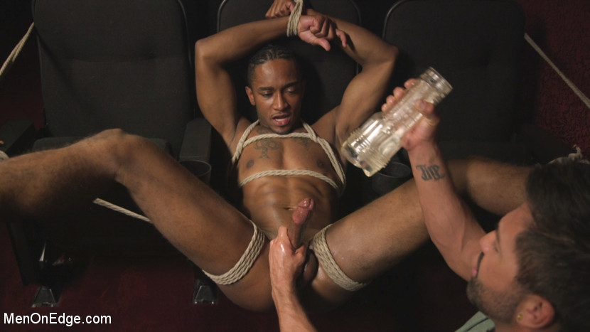 Zaid Powers in Edged At The Cinemas - MenOnEdge how can i cum in my mouth