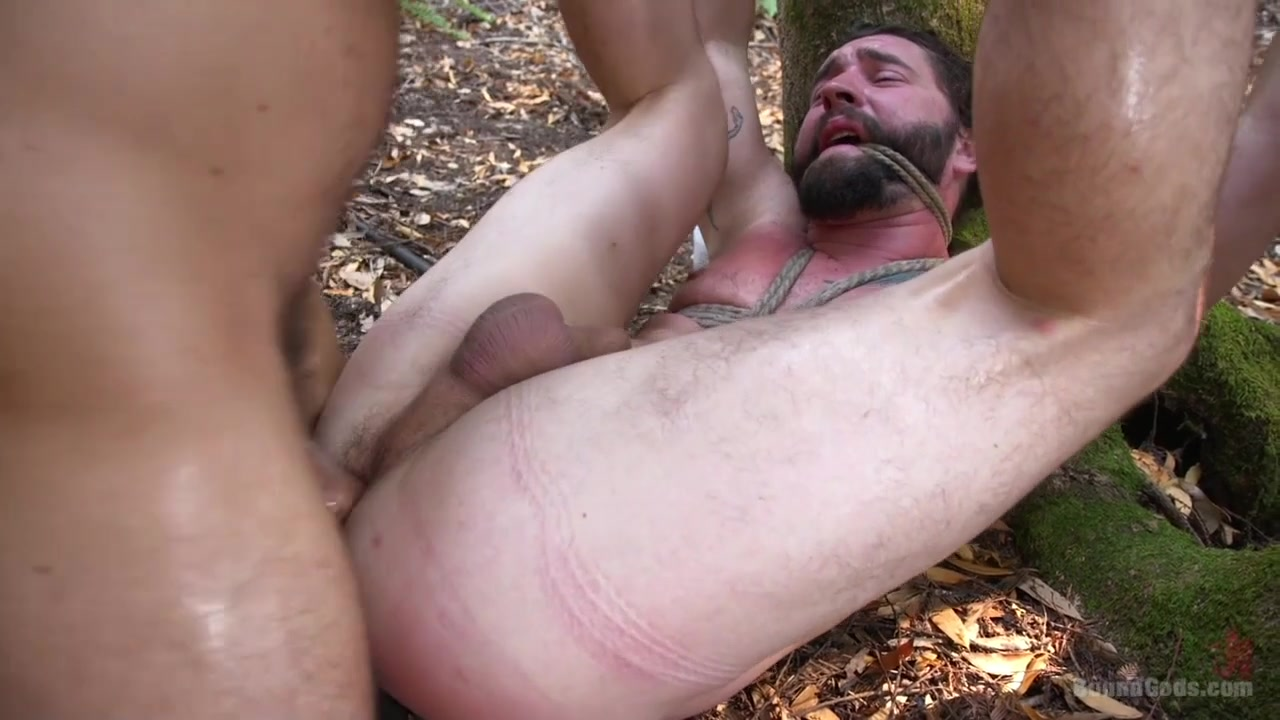 Tristan Jaxx Jackson Fillmore in Deep Woods Domination: Chapter 2 - BoundGods Sexy bootcut jeans