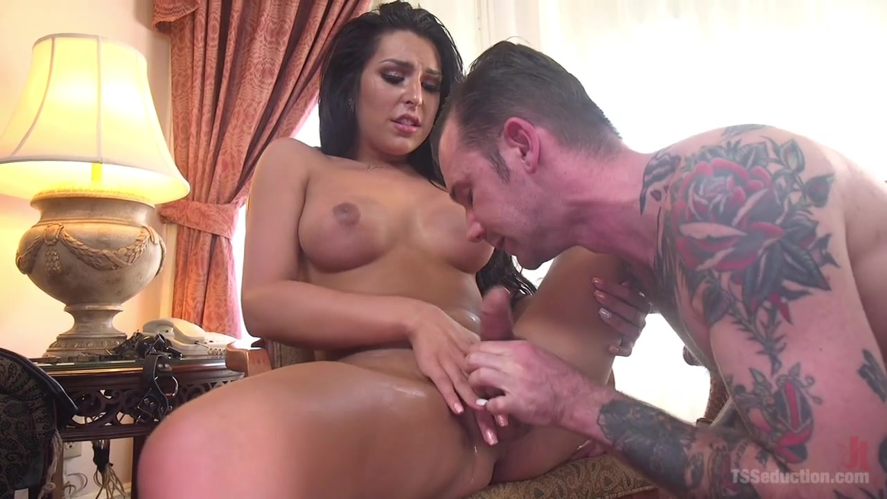 Chanel Santini Will Havoc in Gorgeous Chanel Santini Makes Will Havocs Fantasy Come True - TSSeduction video of naked women fucking monkey