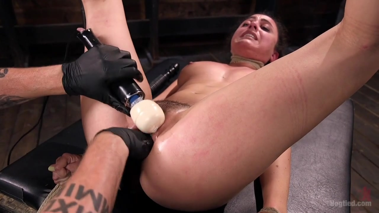 Roxanne Rae The Pope in Masochistic Pain Slut Is Sadistically Dominated In Extreme Bondage - HogTied Free Interracial Hd Movies
