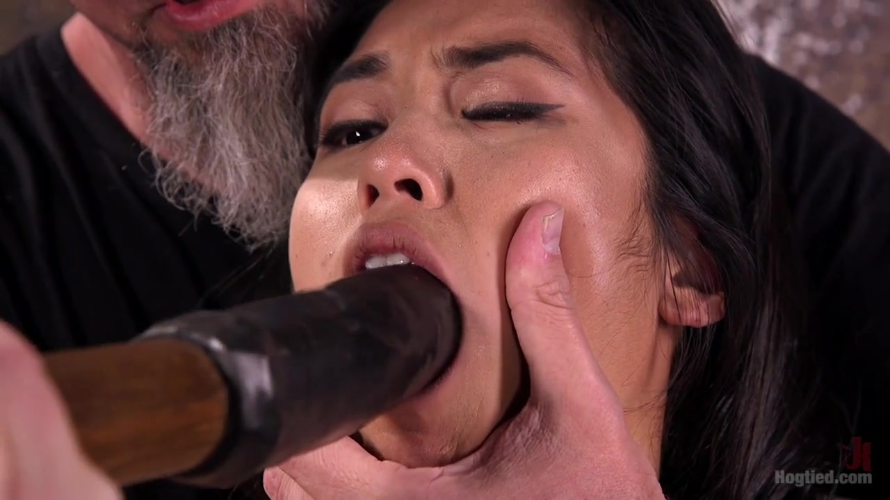 Mia Li The Pope in Brutal Hair Suspension, Grueling Bondage, Torment, And Orgasms - HogTied Tgirl list