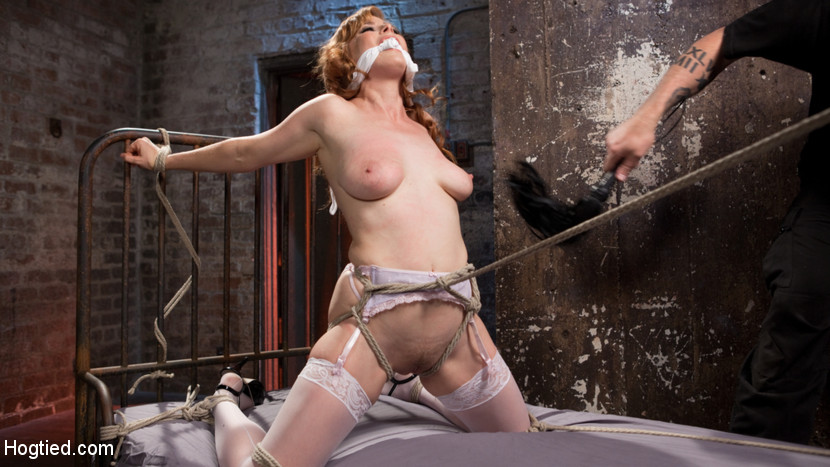 Penny Pax The Pope in Red Headed Anal Queen Is Helpless In Grueling Bondage - HogTied pov ebony blonde showing images for blonde ebony pov