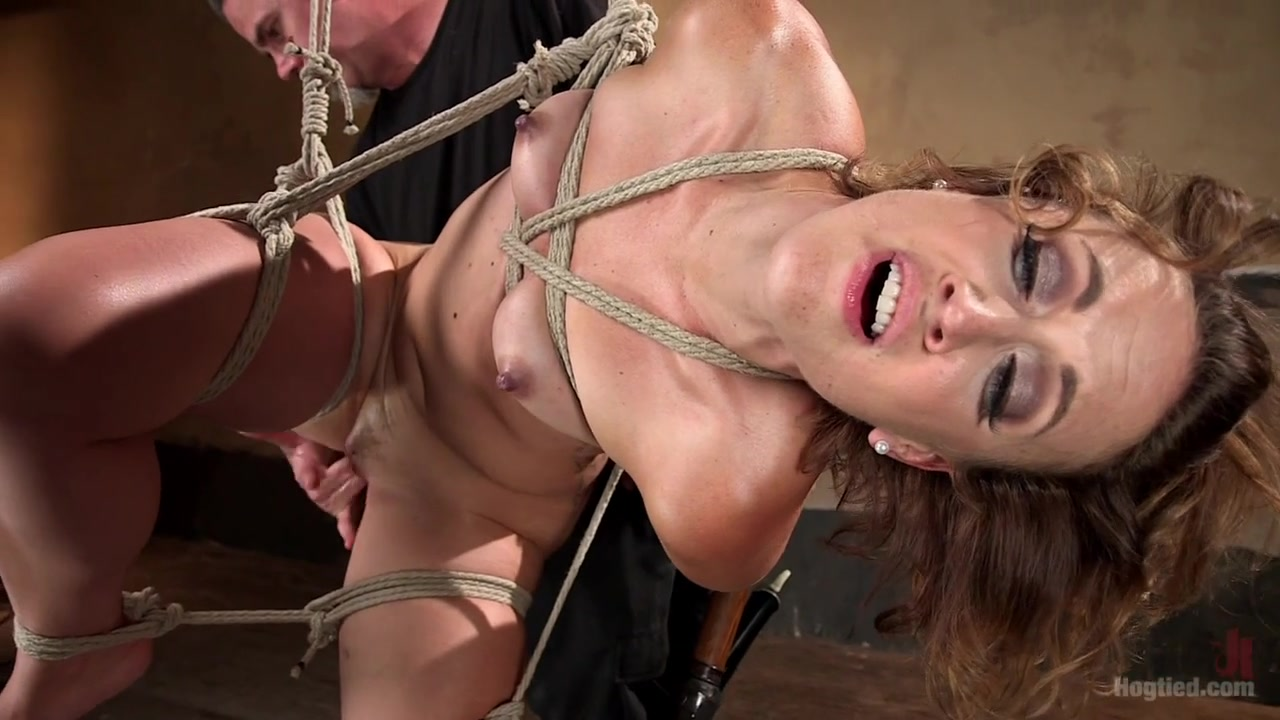 Dylan Ryan The Pope in Rope Slut Begs To Suffer In Extreme Bondage - HogTied Audition movie