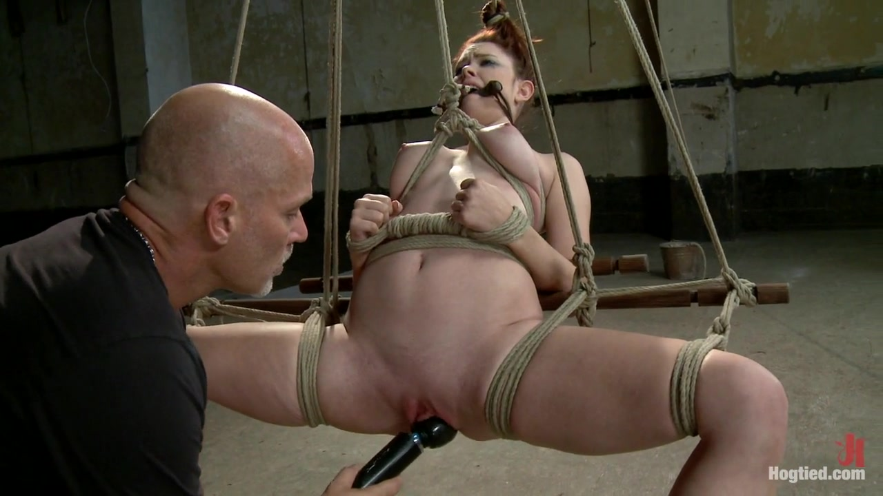Melody Jordan Mark Davis in Melody Jordan Contorted In Severe Rope Bondage - HogTied Gf gets screwed by an experienced tattooed fellow