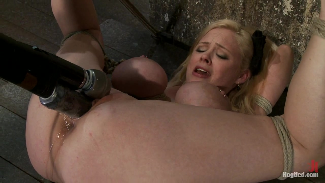 Katie Kox in Huge Bound Breasts And Plenty Of Squirting. - HogTied shakira hot nude photos