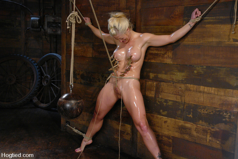 Holly Heart Maestro in One Tough Bitch: Holly Heart And Maestro - HogTied Sexually quotes and saying