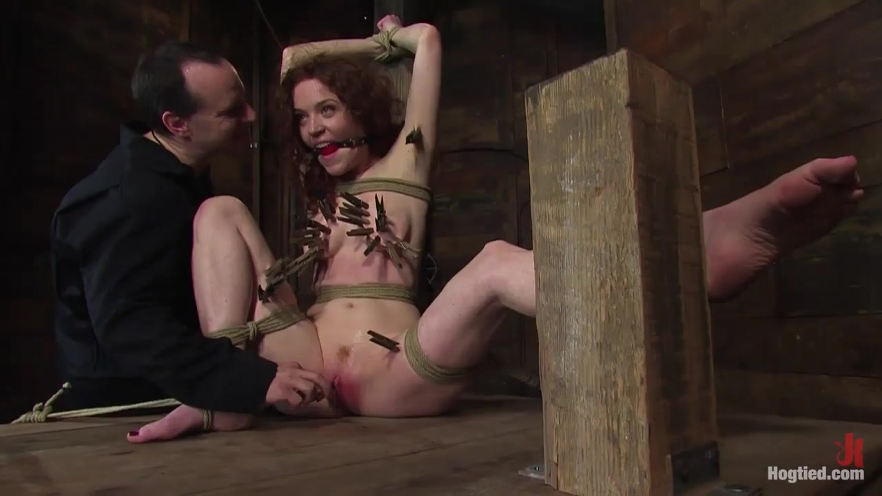 Rita Seagrave in Hot Blooded Readhead Rita In For Her First Ht Fucking - HogTied female celebrities full frontal nude