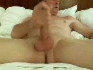 Big cock grandpa cum 3 Amature dildo