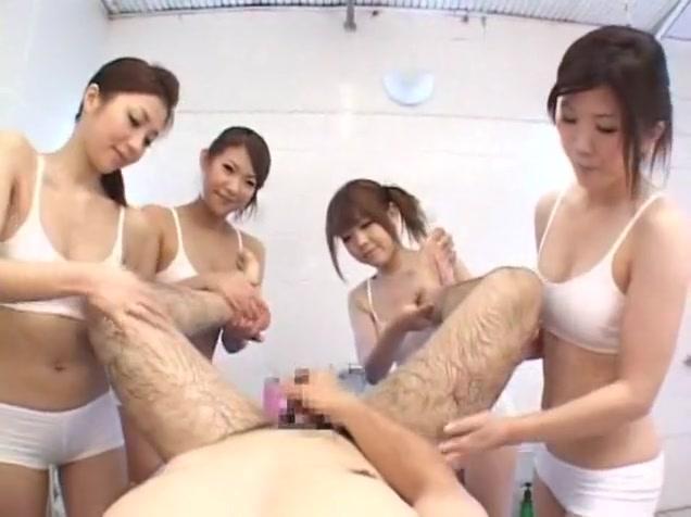 Incredible Japanese whore Yuuna Takizawa in Fabulous Massage, POV JAV scene pig tails big asses