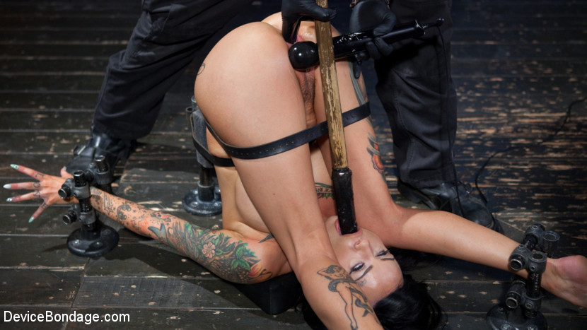 Lola Luscious The Pope in Tattooed Masochist In Grueling Bondage, Tormented And Orgasm Overload - DeviceBondage does penis enhancement work