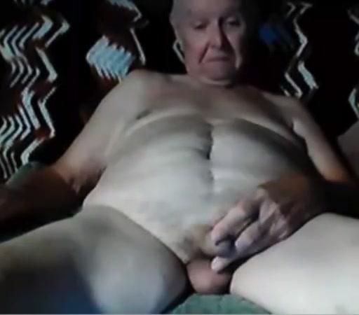 Grandpa stroke on webcam 8 sharing double dildo guy girl