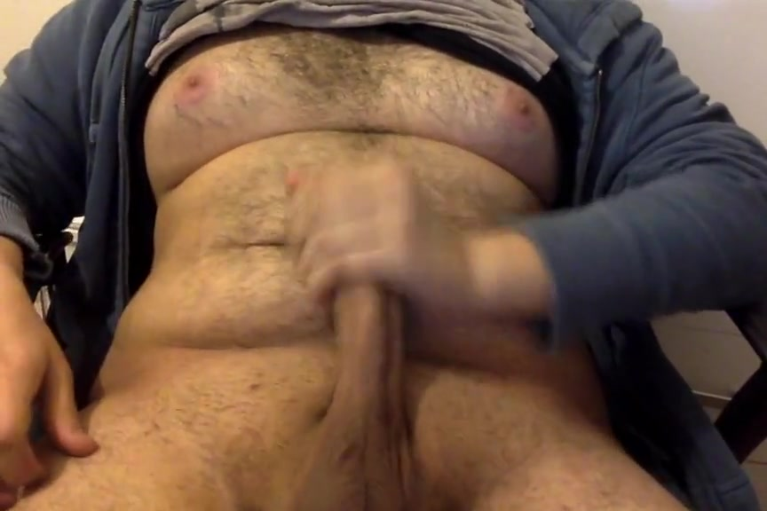 Moobs chubby jerking off Big bobs sexy video