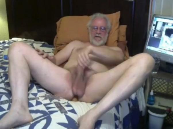 Grandpa play on webcam 2 Curvy Porn Pic