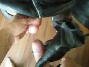Leather gloves handjobs (cuir sexy) bondage stories mental hospital