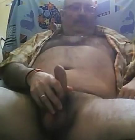 Daddy bear stroking on armachair Drunk straight college gay fuck