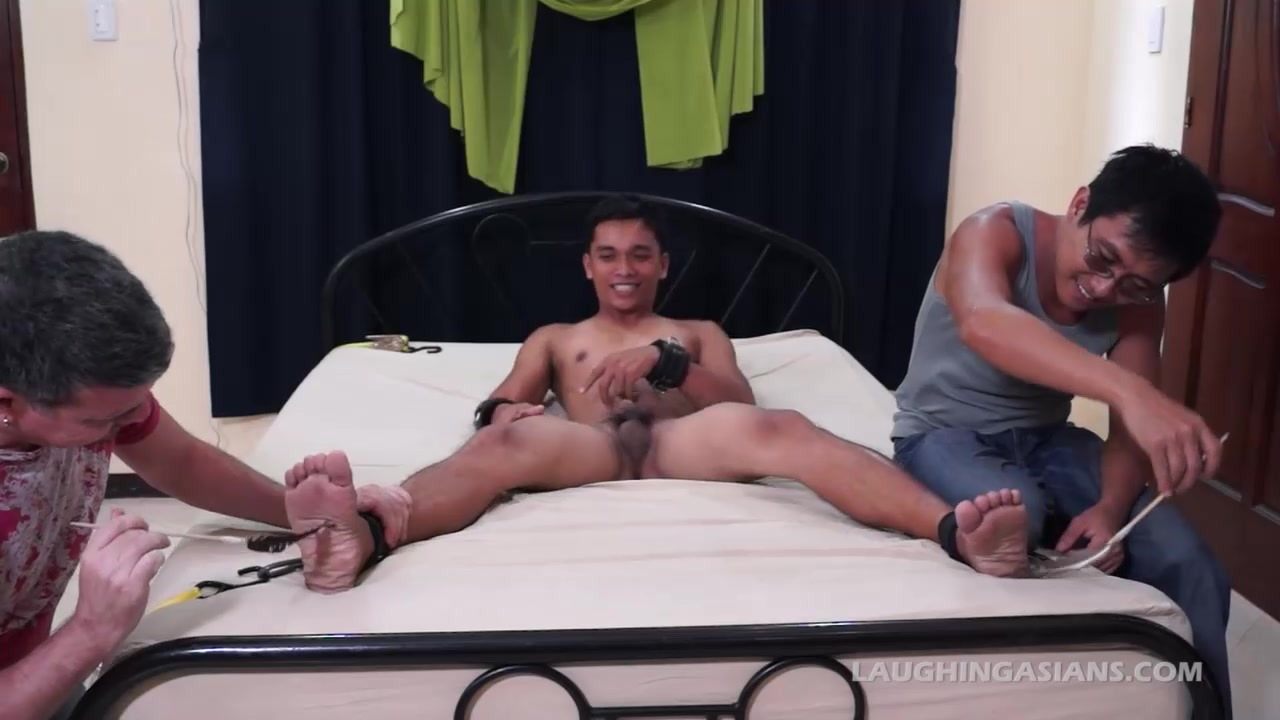 Hot Diego Tied And Tickled Hairy Anal Cum