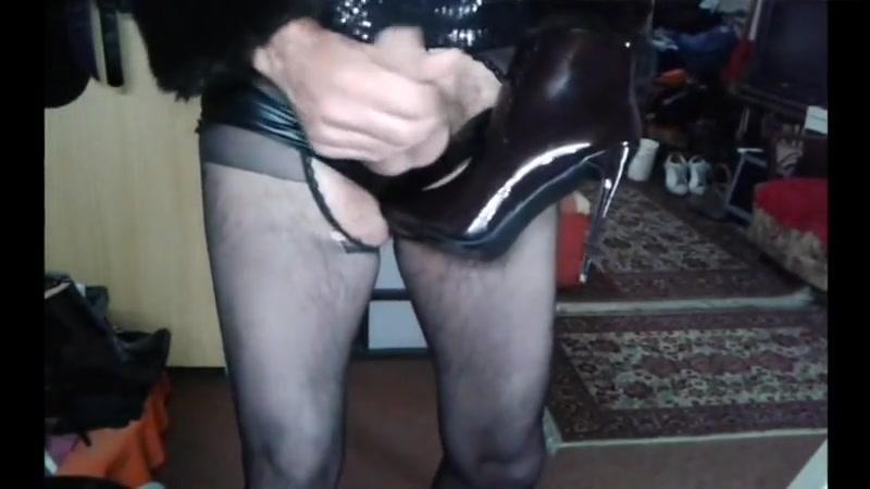 Cum on high heels mix 832 Ebony facefuck