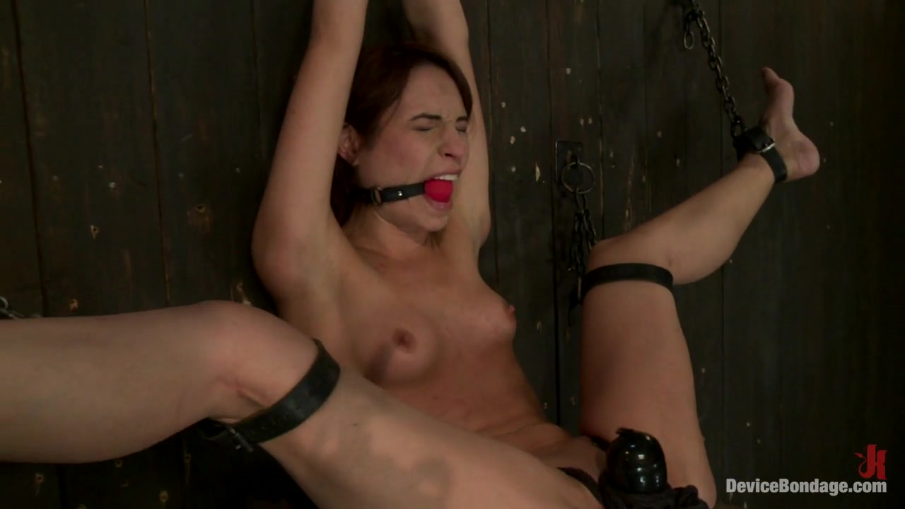 Amber Rayne in Flexible whore is spread wide with evil foot torture, sadistic impact, and brutal nipple torment - DeviceBondage Free fat mature movies