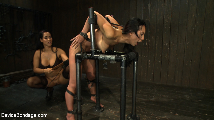 Tia Ling Isis Love in Every last orgasm will be had - a bondage crusade - DeviceBondage Funny sex positions donkey punch