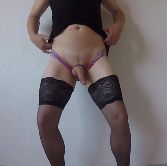 Streap tease in front of my cam dressed as a girl 3d porn anal monster