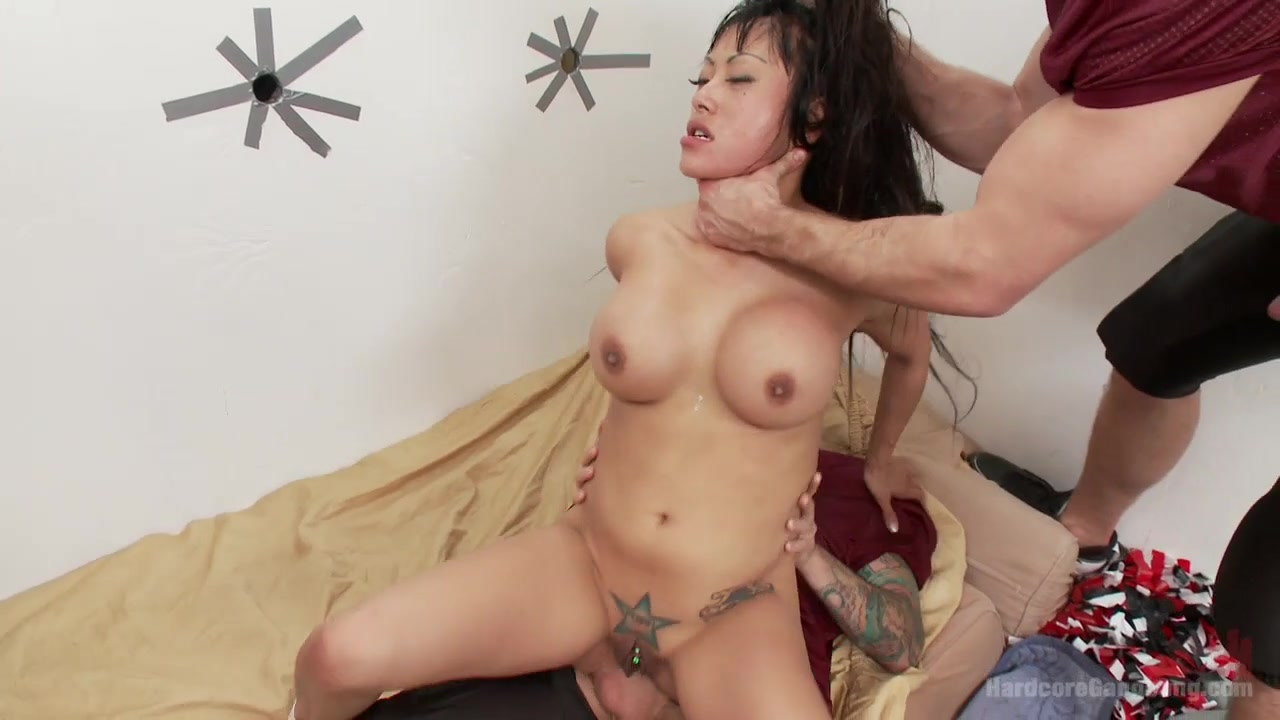 Revenge Of The Cheerleader - HardcoreGangbang cumming in girls pussy