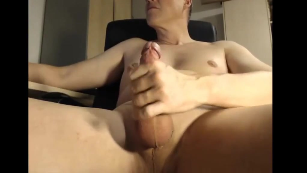Dad jerking his cock at the office How to have tit sex