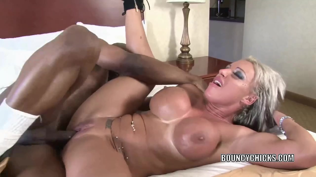 Busty blonde Brooke Jameson gets nailed with a black cock Crazy sex gallery