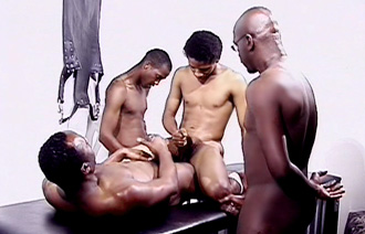 Hot Boi and Mello and Curious in La gangbangaz scene 4 Are most anal cancerous