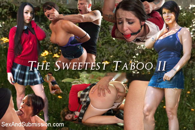 Mr. Pete Shay Fox Lola Foxx In THE SWEETEST TABOO 2: A FEATURE PRESENTATION: Stepdaughter And Mother Bondage Fantasy Movie – SexAndSubmission