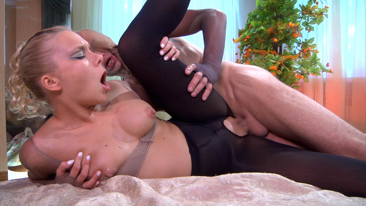 PantyhoseJobs Video: Virginia and Herbert Parody of tv show bewitched