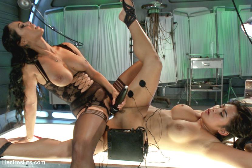 Isis Love  Mia Li in Deep Electro Examination - Electrosluts