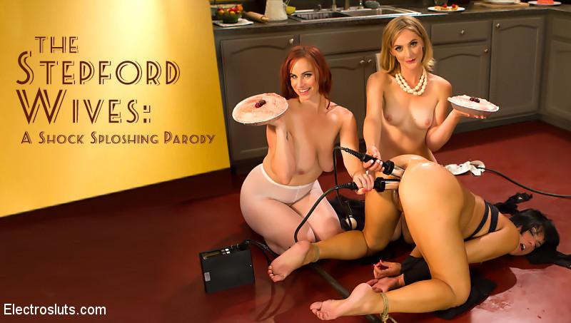 Bella Rossi Rose Rhapsody Mona Wales In Stepford Wives: A Shock Sploshing Parody – Electrosluts