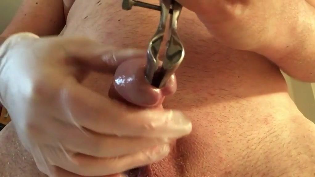 Harnroehre peehole urethra with speculum porn star tom byron
