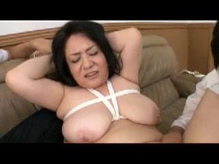 Japanese mom #45 Sasha Eats Old Man Dim Sum