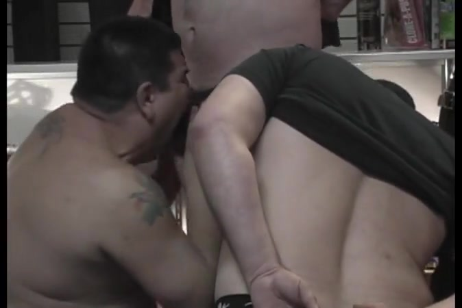 Hot gay threesome gets sweaty and sticky los angeles nude shows