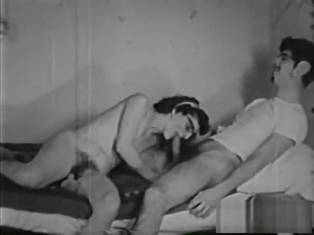 Crazy pornstar in horny vintage, small tits sex scene