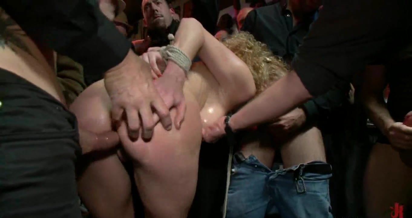 Racy group punishment Chubby women in tight tops