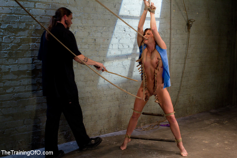 Ariel X Suffers Beautifully in Tight Bondage and Intense Torture - TheTrainingofO