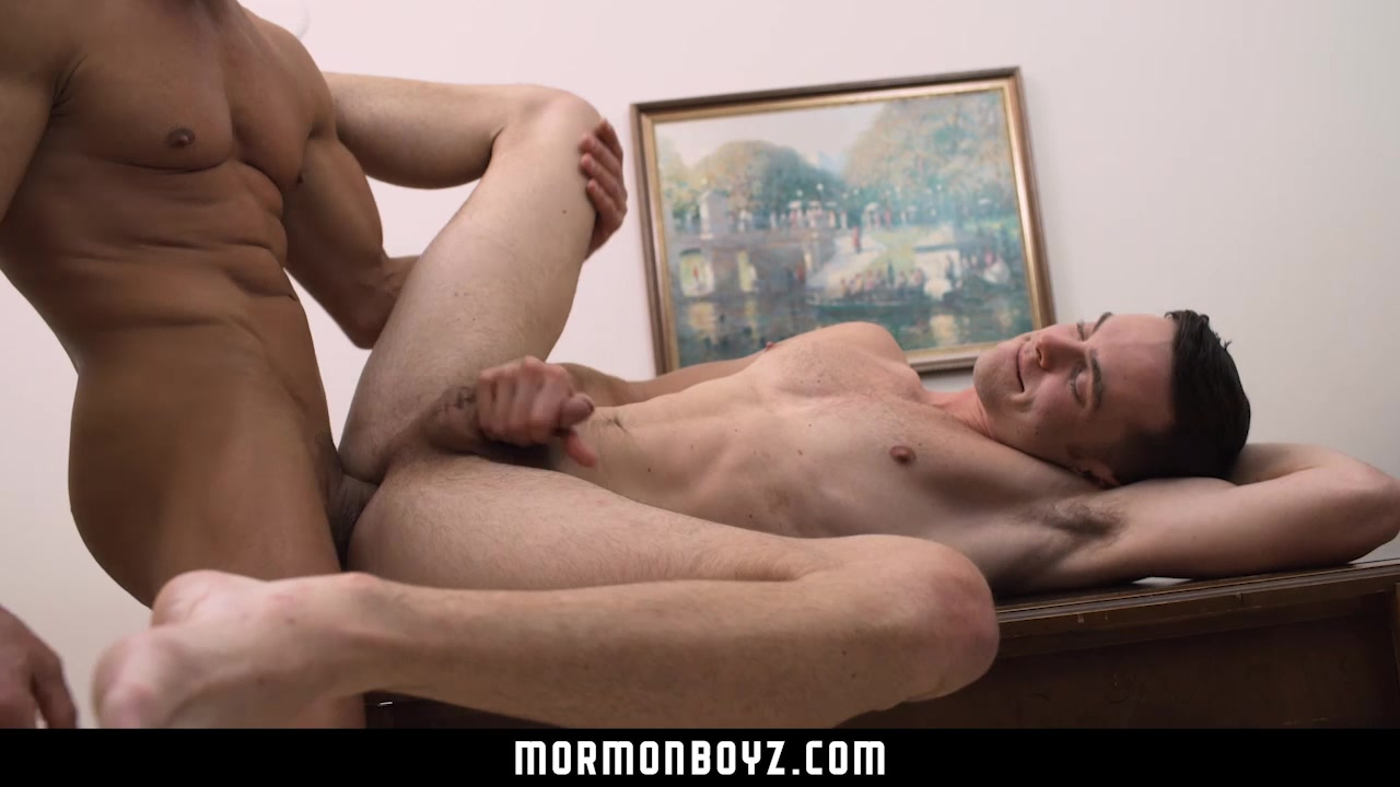 MormonBoyz - Daddy seduces young nervous boy Kinky angel gets fucked without any compassion