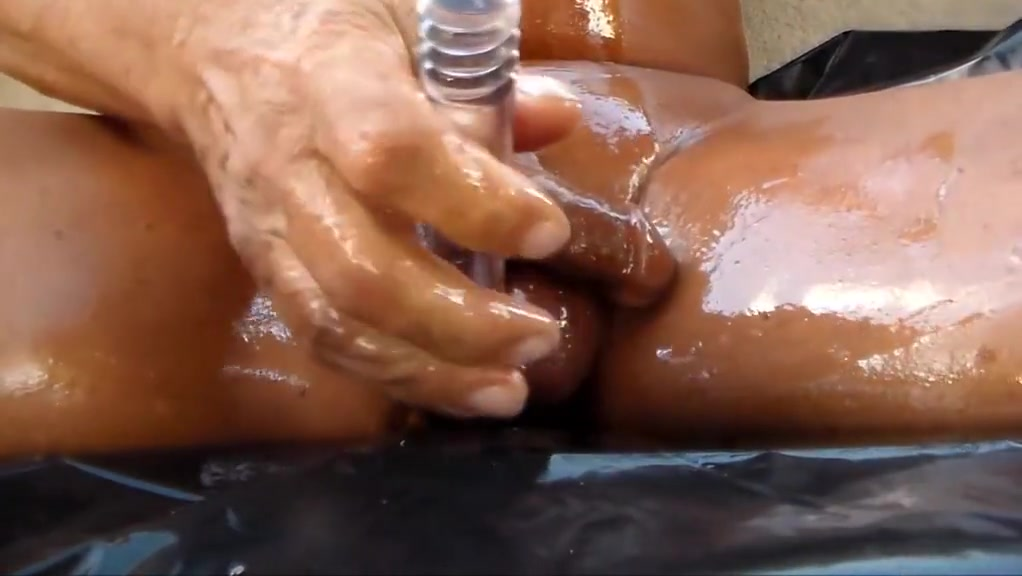 Oiled cock with anal penetration mature black woman nude