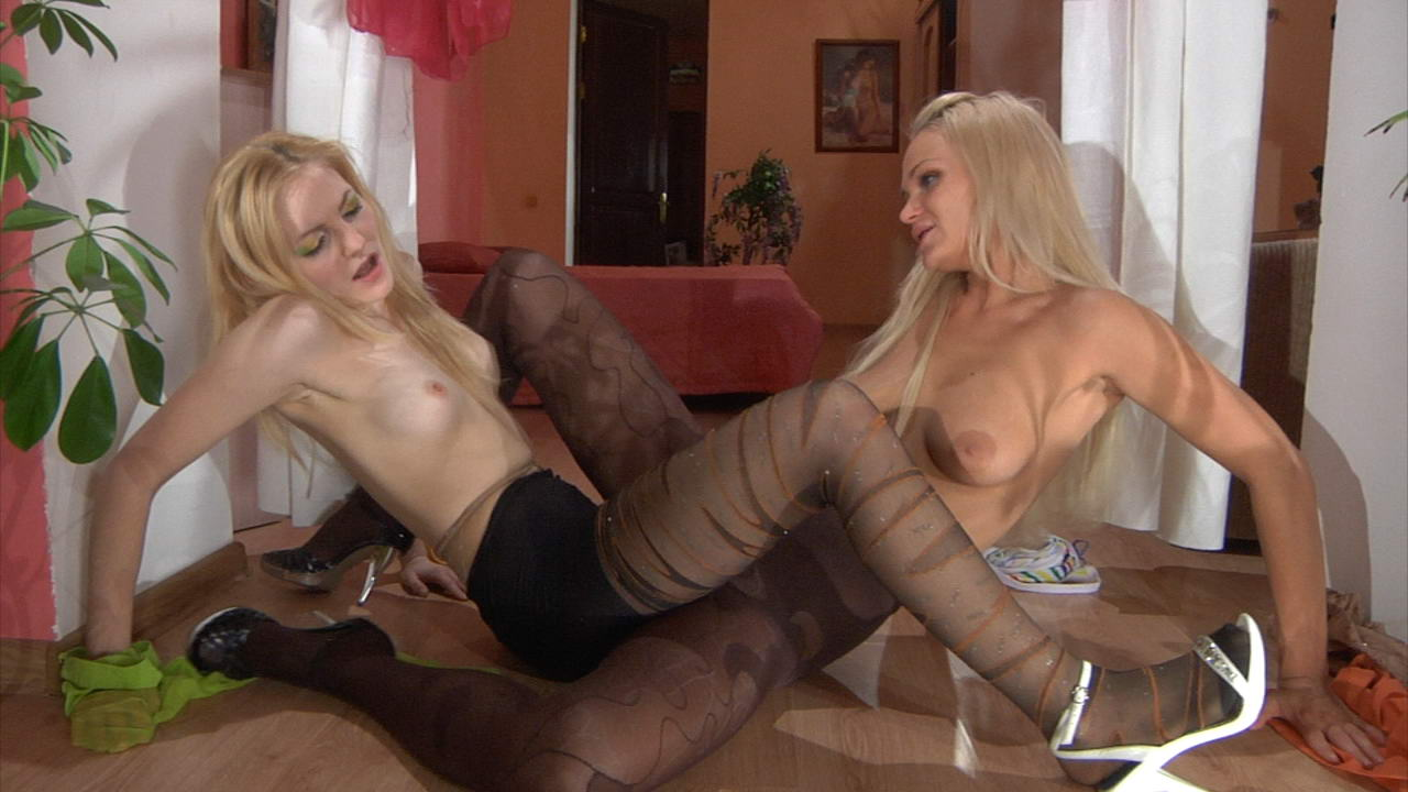 Pantyhose1 Clip: Dolly and Judith bf sells gf for cash