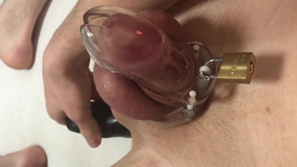Ass toying buttplug with chastity belt Pakistani sex porn visuals