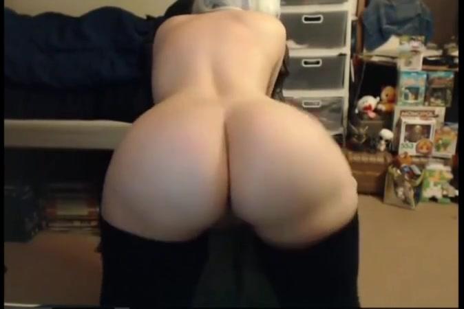 Thick white girl tease G String Anal Sex