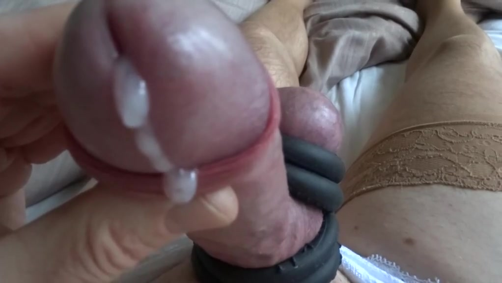 Cock and balls ring wank slow motion Getting a busty girl hot