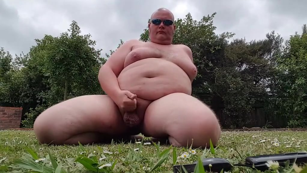 Fay man has more fun in the garden eat your own cum sissy hypno 5